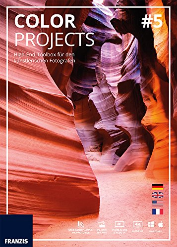 Franzis Verlag COLOR projects 5: High-End-Bildbearbeitungssoftware für den künstlerischen Fotografen