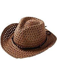 Sombrero De Paja Respirable Del Sombrero Del Sol Del Verano Del Niña Y Niño  AIMEE7 Sombrero 3b07117811a