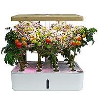La fioriera idroponica è la vostra soluzione e un buon amico per coltivare in casa. Inoltre, è anche un regalo ideale per i compleanni. Ideale per uso interno, sia al bancone della cucina, nella finestra o nel soggiorno. Piantare le vostre erbe prefe...
