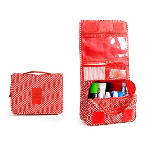 Pixnor Premium voyage pochette organisateur lavage à main maquillage sac de toilette cas cosmétiques