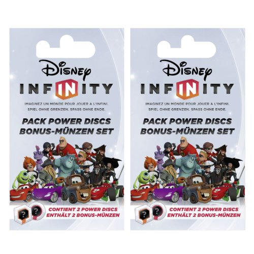 Disney Infinity Bonusmünzen Blindpack-Doppelpack (4 Münzen) [Importación Alemana] 51MJ0VSsPNL