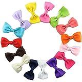 Pinza De Pelo Para Las Niñas Chicas Tamaño Pequeño 15 Piezas/Conjunto Clip De Pelo Multicolor Horquilla De Arco