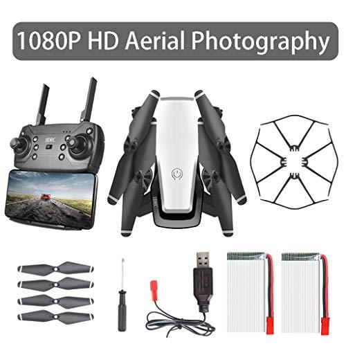 TriLance D8 Faltbare WiFi 1080P Drohne & Kamera HD Quadcopter 20 Minuten Flugzeit, Lange Akkulaufzeit Drohne Faltbar Gestenfoto Echtzeit Luftbildaufnahme Quadcopter Dual Battery