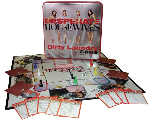 Click for larger image of Desperate Housewives Dirty Laundry Game (Tin)
