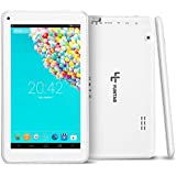YUNTAB Tablette tactile enfant T7 Tablette 7'' IPS Allwinner A33 Quad Core 4GB Tablette Android 4.4 support externe TF carte (Blanc)