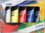 College Acrylfarbenset Schmincke, Kartonset 5 x 75 ml