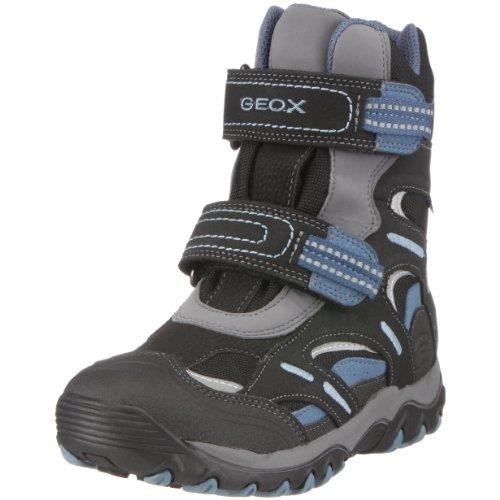 Geox J0306B 1122 C9221 Kunior Alaska boy WPF, Bottes garçon Blau (blk/sky)