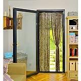 OSE Rideau de porte chenille anti mouche 90 x 220 cm -