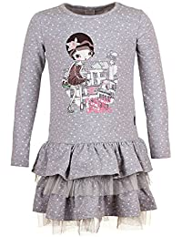Kids Flower Dreams Niñas Camisa de entrenamiento, Gris chiné clair