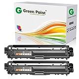 2 Greenpoint Toner kompatibel zu Brother TN-242BK TN-246BK HL-3142 3152 3172CDW DCP-9017 9022CDW MFC-9332 9342CDW - Schwarz