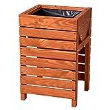 Hochbeet Kräuterbeet Tischbeet aus Holz für Balkon, Garten von Gartenpirat®