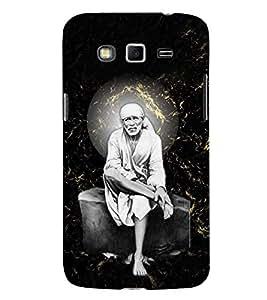 Sri Sai Baba 3D Hard Polycarbonate Designer Back Case Cover for Samsung Galaxy Grand 2 G7102 :: Samsung Galaxy Grand 2 G7106