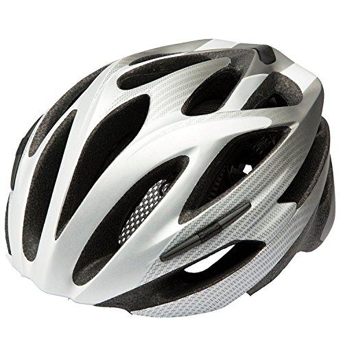 Preisvergleich Produktbild Fahrradhelm Cratoni Pacer silver-anthracite matt