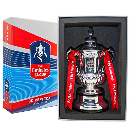 Fa Cup Emirates Cup Trophy 150mm free standing, used for sale  Delivered anywhere in UK