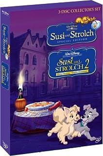 Susi und Strolch, S.E. / Susi und Strolch 2 - Kleine Strolche, großes Abenteuer [3 DVDs]