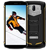 Blackview BV5800 (2018), Outdoor Smartphone 5580mAh 13MP + 8MP Dual Kameras Robustes Smartphone, Android 8.1 Smartphone 18:9 Touch-Display, IP68 Smartphone Wasserdichte Stoßfest Staubdicht,Gelb