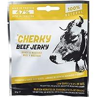 Cherky Jerky, Aperitivo local (Sabor miel y mostaza) - 12 de 30 gr. (Total 360 gr.)
