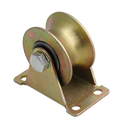 Mxfans 49mm Durchmesser Stahllager 45# Stahl Industrie U Rille starr Rille 300 kg