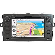 "2DIN 7"" TOYOTA AURIS: NAVEGADOR GPS, MANOS LIBRES BLUETOOTH, CD, DVD, USB, SD, IPOD"