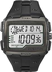 Timex Mens Quartz Watch, Digital Display And Resin Strap - TW4B02500