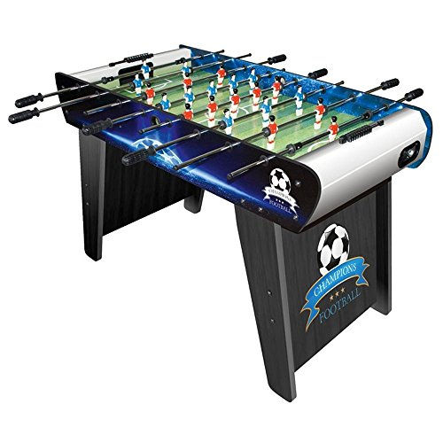 Super Big Children's Kids Football Play Table Champions by Leomark, Soccer Junior Family Table Sport Game for Boys Girls
