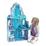 KidKraft 65881 Disney Frozen Ice Castle Dollhouse, Multi-Colour