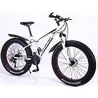 "MYTNN Fatbike Nouveau style 2019 26"" 21 vitesses Shimano Fat Tyre VTT 47 cm RH Vélo de ski Fat Bike"