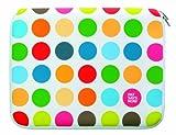 Pat Says Now Sleeve 17,7 (7 Zoll) bis 22,8 cm (9 Zoll) für Apple iPad Polka Dots