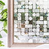 CottonColors statische 3D Fensterfolie ohne Klebstoffe Sichtschutzfolie Dekofolie keine Phthalate, umweltfreundlich, 3ft x 6,5 ft. (90 x 200 cm)