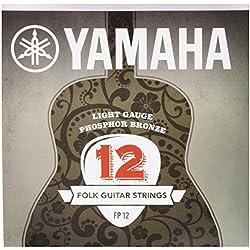 Juego de cuerdas - Yamaha FP12 - Guitarra Acústica