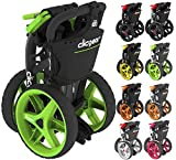 """""""NEW 2016"""" CLICGEAR 3.5+ GOLF TROLLEY 3 WHEEL PUSH CART ALL COLOURS + FREE GIFT"""