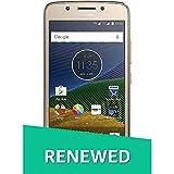 (Renewed) Motorola G5 XT1677 (Fine Gold, 16GB)