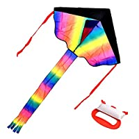 Jaques of London Multi Coloured Kite - Our Kites for children under 10 make great Garden Games – Outdoor Toys Kites for…