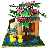 Juguetes para niños Modelo Preescolar de desarroll Una Ventana de la Puerta Bricolaje Edificio Flotador Igloo