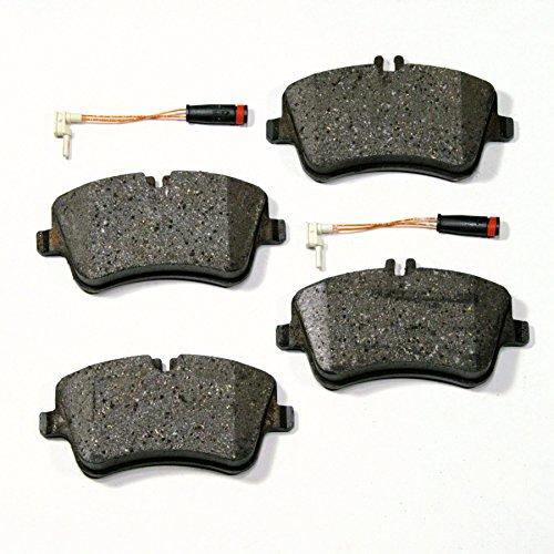 Bremsbeläge/Bremsklötze/Bremsen + Warnsensoren für vorne/die Vorderachse