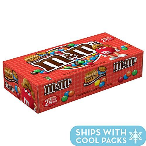 M&M\'s Peanut Butter - 24 Bags je 46.2g / 1108g