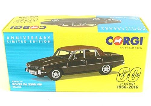 Corgi VA06519 Rover P6 3500 VIP 1:43 60th Anniversary