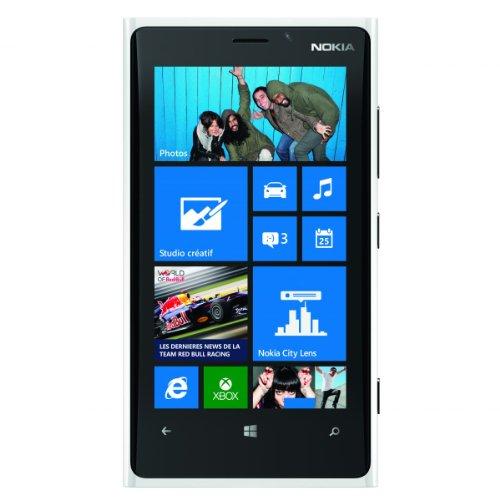 Carl-Zeiss Smartphone für Nokia Lumia 920 (32 GB, entsperrt, GSM 4G LTE, Windows 8) Weiß