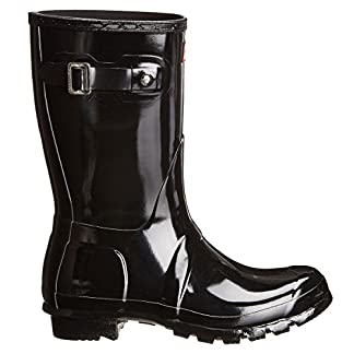 HUNTER Women's Black Wellington Boots 16