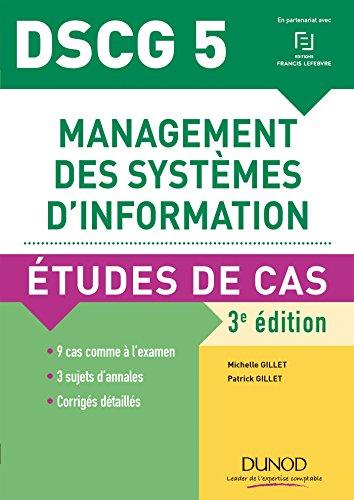 Management des systèmes d'information DSCG 5 : Etudes de cas
