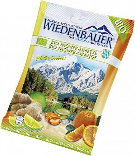 bio4you Bio Bonbon Ingwer-Limette & Ingwer-Orange, 75 g