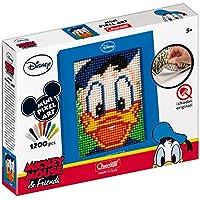 Quercetti 00827 - Gioco Wd Pixel Art Mini Donald