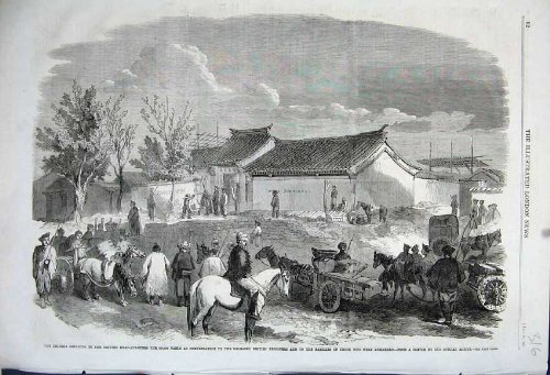 1861 Cavalli Britannici Cinesi del Prigioniero di Tael dei Quarti (Capi Britannici)