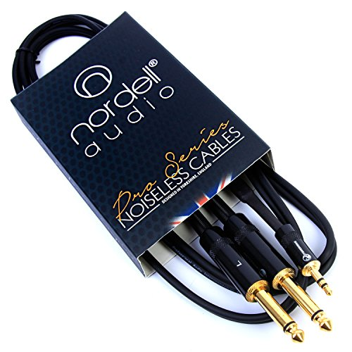 2-x-1-4-inch-jack-to-35mm-stereo-mini-jack-lead-cable-15m-5ft