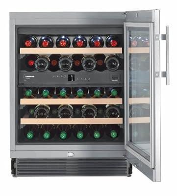 Liebherr UWTes 1672 Vinidor - wine coolers (freestanding, Silver, Stainless steel, 5 - 20 °C, SN, ST, B, Stainless steel) by Liebherr