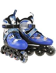 Hot Wheels Hot Rod - Patines en línea negro schwarz blau Talla:28-32