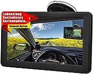 GPS Navigationsgerät für Auto, Aonerex Navigation für LKW PKW KFZ 7 Zoll Touchscreen Lebenslang Kostenloses Ka