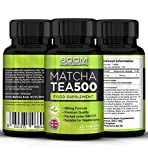 Boom Supplements Matcha Tea Extract Food Supplement, 500mg - 120 Capsules