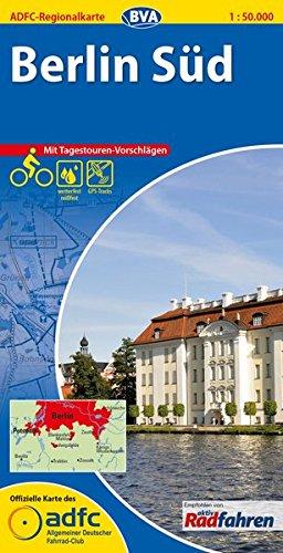 ADFC-Regionalkarte-Berlin-Sd-mit-Tagestouren-Vorschlgen-150000-rei-und-wetterfest-GPS-Tracks-Download-Vom-Alex-zum-Blankensee-von-Potsdam-bis-Kpenick-ADFC-Regionalkarte-150000