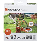 Gardena 8255-20 Sprinklersystem Start-Set für Garten-Pipeline